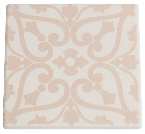 M&W Medina Agadir Untersetzer Keramik/Kork 9,5 x 9,5 cm