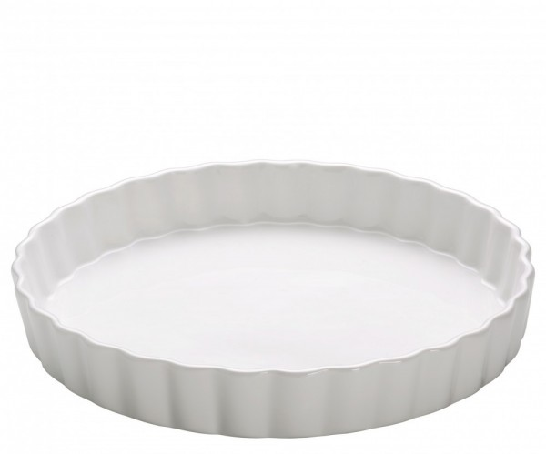 M&W White Basics Kitchen Quiche Form 28 cm