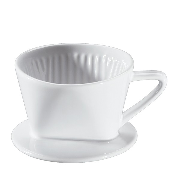 Cilio Keramik Kaffeefilter Größe 1 weiss