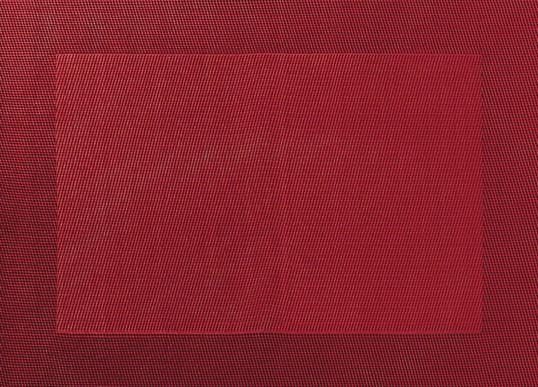 ASA Tischset mit gewebtem Rand 33,0 x 46,0 cm granatapfelrot