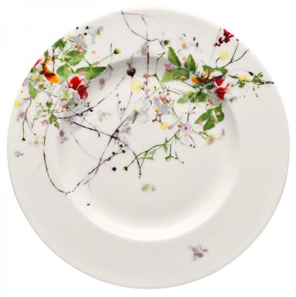 Rosenthal Brillance Fleurs Sauvages Frühstücksteller 19 cm Fahne